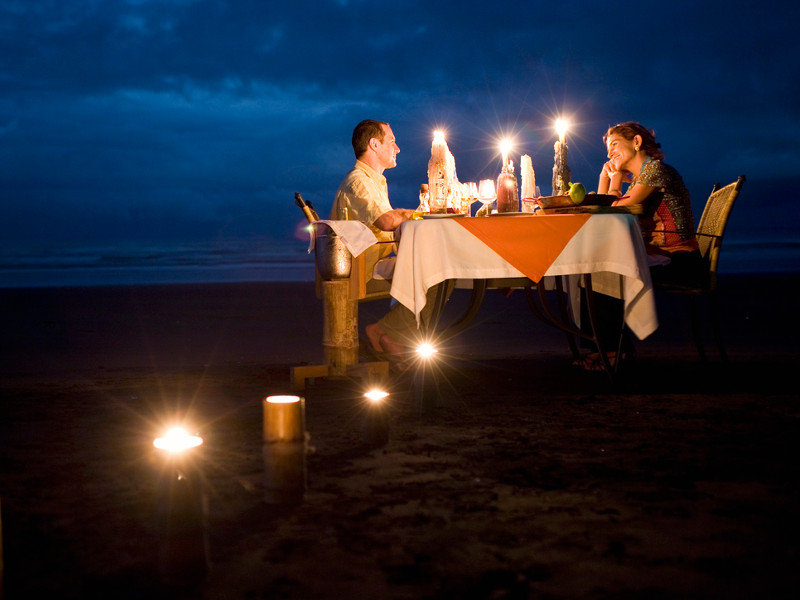 Romantic Dinner in Costa Rica